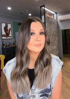 Icy Brown It,s Beautiful Hair Color Ideas Beautiful Hair Color, Hair Highlights, Messy Hairstyles, Hair Colors, Hair Trends, Long Hair Styles, Brown, Beauty, Ideas