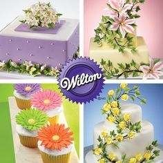 Wilton Course 4: Advanced Gum Paste Flowers, 4-Week Course
