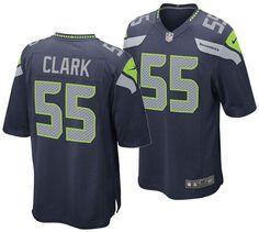 c8228c1e76ee6 Nike Men Frank Clark Seattle Seahawks Game Jersey Seattle Sounders, Seattle  Mariners, Seattle Seahawks