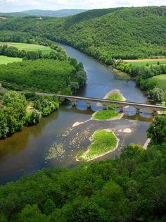 La vallée de la Vézère Dordogne Aquitaine