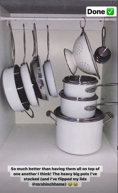 Stacey takes inspo from Mrs Hinch with cupboard organisation hack using magnets Kitchen Cupboard Organization, Home Organization Hacks, Cupboard Storage, Kitchen Cupboards, Storage Hacks, Travel Organization, Kitchen Reno, Diy Kitchen, Kitchen Storage