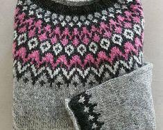 Wool, Knitting, Sweaters, Etsy, Tricot, Breien, Stricken, Sweater, Weaving