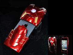 #iPhone MARVEL Iron Man Mark VII Protective Case with LED Light #Mobilephones