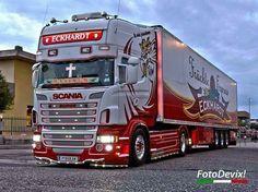 . Volvo Trucks, Peterbilt Trucks, Custom Big Rigs, Custom Trucks, Show Trucks, Big Trucks, Road Train, Volkswagen Transporter, London Bus