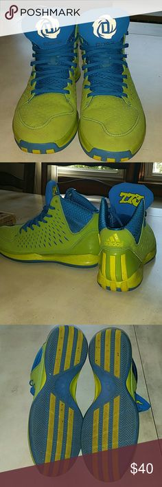 Adidas D Rose shoes Good condition. Only worn once or twice. Adidas Shoes Sneakers