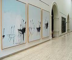 Large painting minimalist art hand painted contemporary for Minimal art resumen