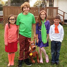 Make October 31 a fun family affair with incredible group Halloween costumes fit for a crowd. These homemade costume ideas allow kids and adults to coordinate together but still stand out.