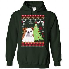 bulldog Christmas - #tshirt #sweater pattern. BUY TODAY AND SAVE => https://www.sunfrog.com/Pets/bulldog-Christmas-7870-Forest-Hoodie.html?68278