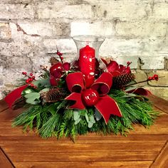 One of another batch of festive centrepieces!