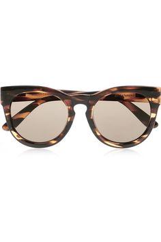 955d2d2fd0 Le Specs - Jealous Games cat-eye acetate sunglasses