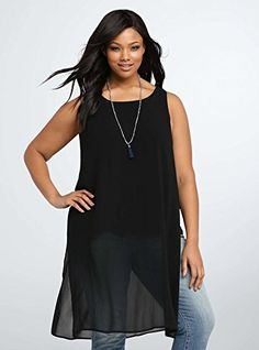 Women's Curve Plus Sleeveless Tank Midi Tunic Dress with ... http://www.amazon.com/dp/B01FWND9HK/ref=cm_sw_r_pi_dp_0CHpxb18X3W2R