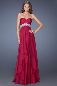 Prom Dresses 2014 floor length prom dressc bodice beaded waistline layered chiffon skirt , You will find many long prom dresses and gowns from the top formal dress designers and all the dresses are custom made with high quality Prom Dresses 2015, Unique Prom Dresses, Cheap Evening Dresses, Prom Dresses Online, Cheap Dresses, Evening Gowns, Strapless Dress Formal, Casual Dresses, Fashion Dresses