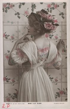 Sadness and classic art: vintage photograph