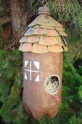 Bird House made from 2 liter bottle