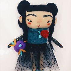 In the shop 👉🏻 @mukla_doll_shop ❤️#mukladolls #dollmaker #ooakdoll #handmadetoys #handmadedoll
