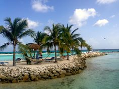 Tropical beach, Aruba