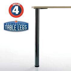 "Replacementtablelegs.com - Bremen Table Leg, 27-3/4"" Height, 2"" diameter, 1-1/8"" adjustable foot, SET OF 4, $77.25 (http://www.replacementtablelegs.com/bremen-table-leg-27-3-4-height-2-diameter-1-1-8-adjustable-foot-set-of-4/)"