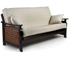 Charlotte Futon Frame With Neutral Cover