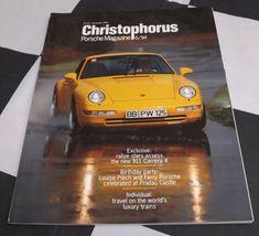 CHRISTOPHORUS PORSCHE MAGAZINE 251 NOVEMBER 1994 PORSCHE 911 CARRERA 4 ROHRL 356 Porsche 911, Carrera, Cars For Sale, November, Porsche Classic, Magazine, Ebay, Friends, November Born