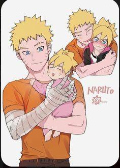 Naruto e Boruto Naruto Shippuden Sasuke, Manga Naruto, Boruto And Sarada, Naruto Comic, Wallpaper Naruto Shippuden, Naruto Sasuke Sakura, Naruto Cute, Naruto Funny, Naruto Wallpaper