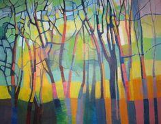 Tree Mosaic by Alison Newman #treeart jd