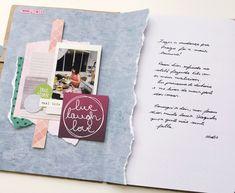 Meu scrapbook de Praga - ScrapBi Wreck This Journal, Live Love, Real Life, Journaling, Blog, Paper, Projects, Crafts, Notebooks