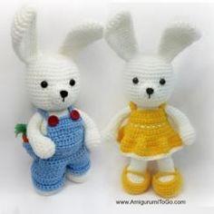 Dress me bunny boy and girl