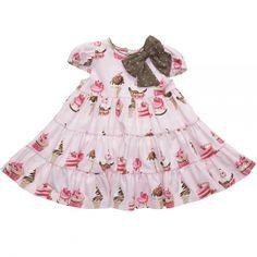Designer Baby: Monnalisa Pink Cupcake Dress