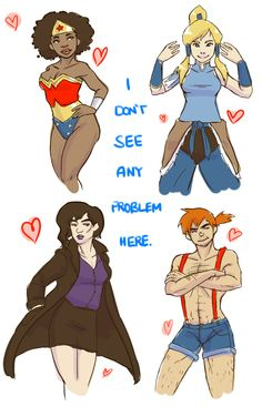 """Cosplay all the things…because u can!""-OMG the gender-bent misty just kills me!! XD"