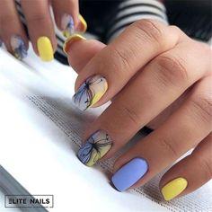most amazing nail design - Page 60 of 103 - Inspiration Diary Short Nail Designs, Cool Nail Designs, Cute Nails, Pretty Nails, American Nails, Nagel Gel, Flower Nails, Beautiful Nail Art, Stylish Nails