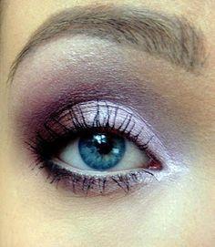 Lavender pink look