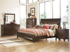 Holloway Panel Bedroom Set by Signature Design by Ashley Furniture. Close to the bedroom set Bedroom Dressers, Bedroom Furniture Sets, Home Furniture, Furniture Design, Bedroom Ideas, European Furniture, King Bedroom Sets, Queen Bedroom, Master Bedroom