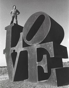 ronbeckdesigns:  The original LOVE sculpture - Robert Indiana -...