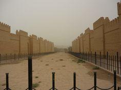 The main street procession, Babylon