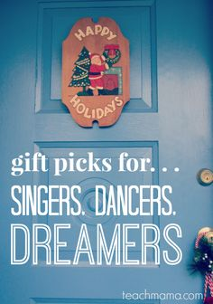 teachmama gift guide | best gift ideas for singers dancers dreamers | everything you need to make it a rockstar holiday