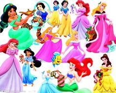 Disney Princess | Disney Princess - Clipart PSD by Alce1977 on deviantART