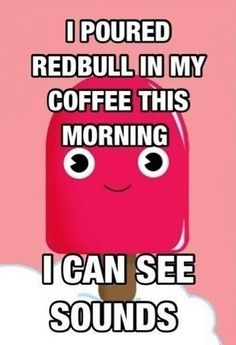 #redbull #coffee