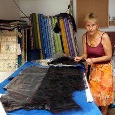 Kurzy plstění oděvů. Stodůlky 7.2013 :: Textilní ateliér - Raduha