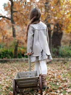 Patron enfant Cosy her little world