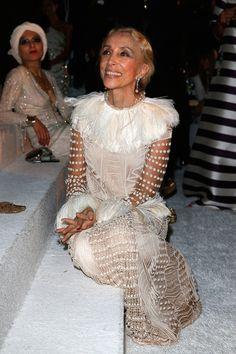 Franca Sozzani Photos - Vogue Fashion Dubai Experience 2015 - Gala Event - Zimbio