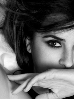 Penélope Cruz #ShaBoomProducts #BeautiesinBlackandWhite http://www.shaboomproducts.com