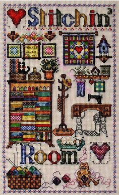 Stitchin Room - Cross Stitch Pattern