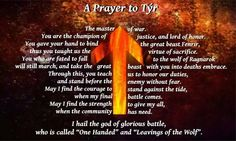 Image result for tyr norse god pic