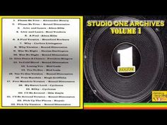 Studio One Archives - Volume 1 - YouTube