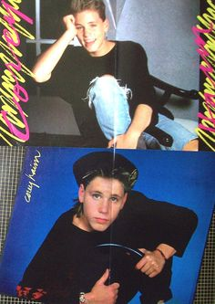 COREY HAIM -  The Lost Boys, Lucas, License To Drive, Dream A Little Dream, Do Not Disturb - Color Centerfolds from 1988