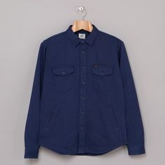 Lee Over Shirt (Indigo Blue) | Oi Polloi