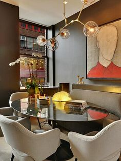 fabulous dining area.