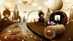 Chocolate World on Behance