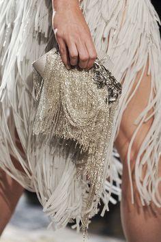 Marchesa - so Gatsby! Marchesa Fashion, Rococo Fashion, Marchesa Gowns, Fashion Bags, Fashion Accessories, Wedding Accessories, Fashion Dolls, Glamorous Chic Life, Marchesa Spring
