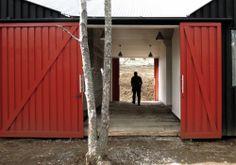 Wochenendhaus in Chile / Familienschuppen - Architektur und Architekten - News / Meldungen / Nachrichten - BauNetz.de
